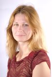 blondie πορτρέτο Στοκ Φωτογραφία