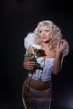 Blondie Angel Royalty Free Stock Photography