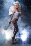 Blondie Angel Stock Photo