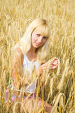 Blondie girl Stock Images