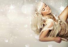 Blondie lindo Fotos de archivo libres de regalías