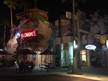 Blondie ` s Toon Lagoon på universella studior, Orlando, FL Arkivbilder
