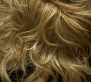 Blondie wig. With curly locks Royalty Free Stock Image