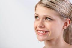 blondin royaltyfri foto