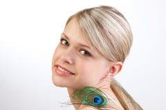 blondin royaltyfri fotografi