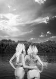 blondiner Fotografering för Bildbyråer