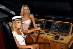blonds航行 库存照片