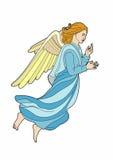 Blonds ange. Vector illustration of a angel, EPS 8 file Stock Illustration