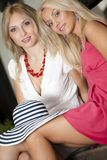 Blonds fashion Royalty Free Stock Photography