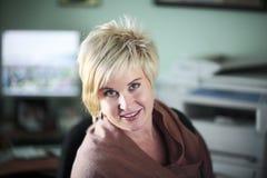 blondy γραφείο Στοκ Εικόνες