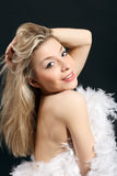 blondy портрет стоковая фотография