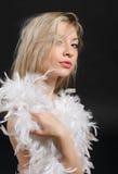 blondy портрет стоковая фотография rf