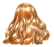 Blondy hair Royalty Free Stock Photo