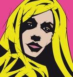 blondyn kobieta Zdjęcia Royalty Free