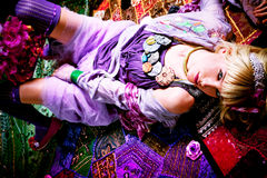 blondyn moda Fotografia Royalty Free