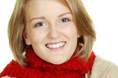 blondyn piękna twarz Obrazy Stock