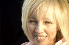 blondyn szczęśliwi obraz stock