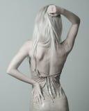 blondyn tylne Fotografia Stock