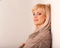 09 blondynek dziewczyna Obrazy Stock