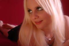 blondynek potomstwa Fotografia Royalty Free