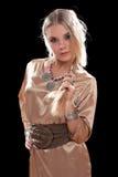 blondynek potomstwa smokingowi ładni Obrazy Royalty Free