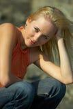 blondynka Obrazy Royalty Free