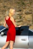blondynka Zdjęcia Stock