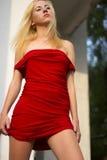 blondynka zdjęcie stock