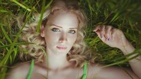 Blondynka Fotografia Royalty Free