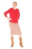 Blondynka Bizneswoman obraz stock