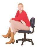 blondynka bizneswoman fotografia stock