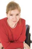 blondynka bizneswoman zdjęcie stock