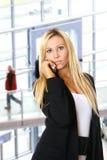 blondynka bizneswomanu urzędu Obraz Stock