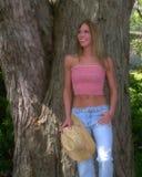 blondynka kraj dziewczynę Zdjęcia Royalty Free