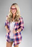 blondynka model Obraz Royalty Free