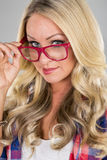 blondynka model Fotografia Stock