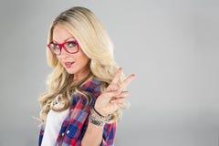 blondynka model Obrazy Royalty Free