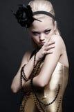 blondynka piękny portret obrazy royalty free