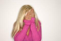 blondynka portret kobiety Obrazy Royalty Free