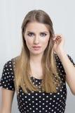 blondynka portret kobiety zdjęcie stock