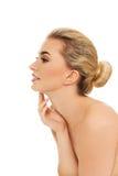 blondynka portret kobiety young obraz royalty free
