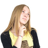 Blondynka sen Fotografia Stock