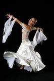 blondynka tancerz zdjęcie royalty free