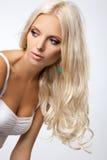Blondynka włosy Obraz Royalty Free
