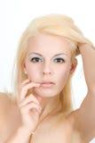 blondynka włosy Obraz Stock