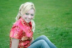blondynka wszystkiego obraz royalty free