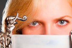 blondynki ampuły portret Zdjęcie Stock