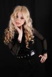 blondynki atrakcyjna dziewczyna Obraz Royalty Free
