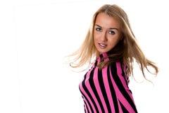 blondynki atrakcyjny pportrait Zdjęcia Royalty Free