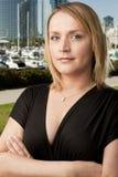 blondynki biznesu biała kobieta Zdjęcia Stock